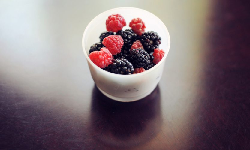 Homegrown Blackberries and Raspberries - Gallery Slide #2