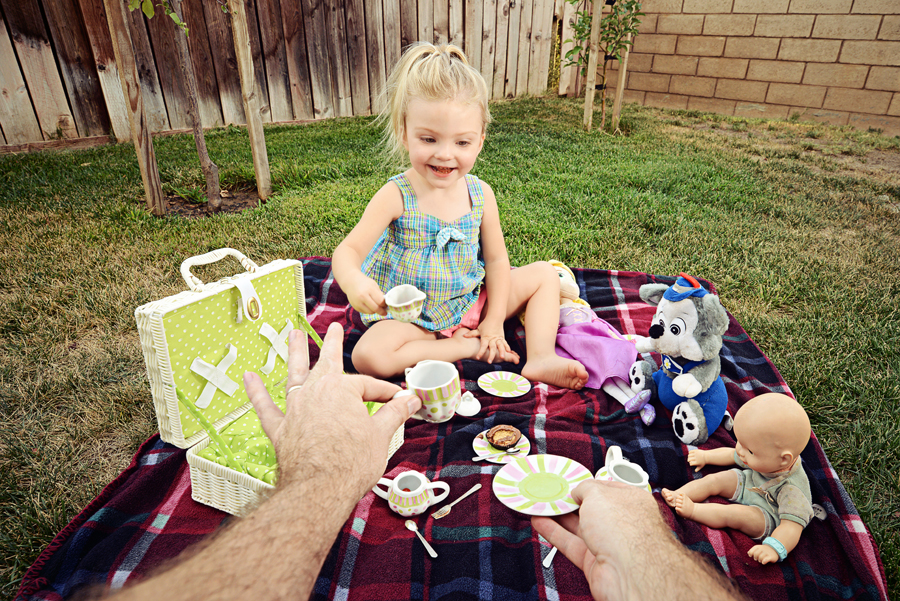 Stay At Home Dad Tea Party