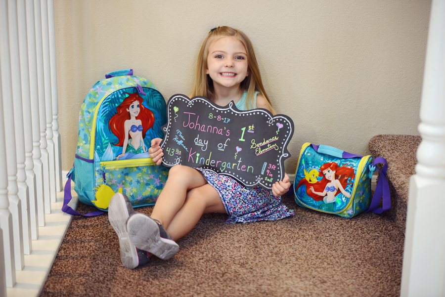 Ariel Backpack and Lunch Bag
