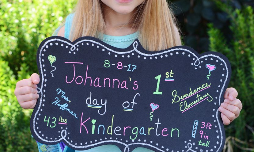 Johanna's First Day of Kindergarten - Gallery Slide #2